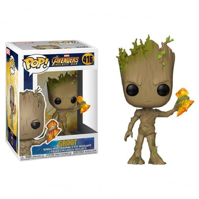 FUNKO POP! - Os Vingadores Ultimato - Groot
