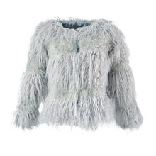 Load image into Gallery viewer, Fashion Women Autumn Winter Faux Fur Coat Open Front Ladies Long Sleeve Outerwear Jacket