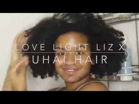 Load and play video in Gallery viewer, Love Light Liz x Uhai Hair