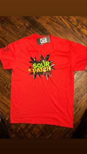 Plug Life Sour Patch Unisex T Shirt  - Red