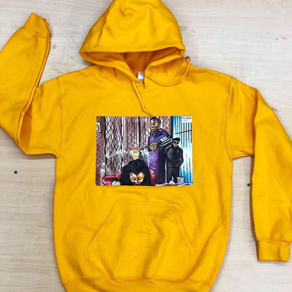 Cancel Dat Bish Hoodie  - Yellow