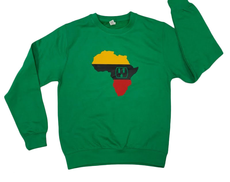 Africa is the Plug Long Sleeve T