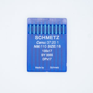 5 Packs of 10 135 x 17 Round Point Needles - American Leatherworks