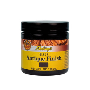 4 oz. Antique Finish-Black