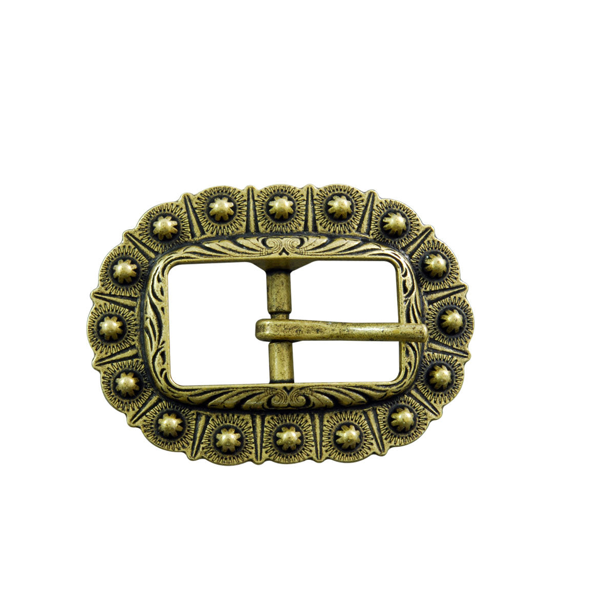 Berry Style Center Bar Belt Buckle Type 2 (Choose Size and Color at Checkout) - American Leatherworks