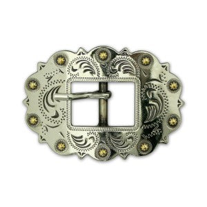 Berry Style Center Bar Belt Buckle (Choose Size and Color at Checkout) - American Leatherworks