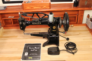 Singer 29K70 Sewing Machine (Great for Sewing Patches) - American Leatherworks
