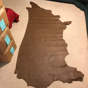Chocolate Top Grain Leather - American Leatherworks
