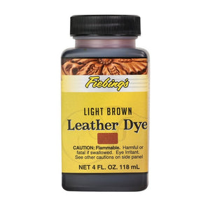 4 oz. Leather Dye-Light Brown