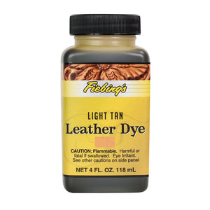 4 oz. Leather Dye-Light Tan