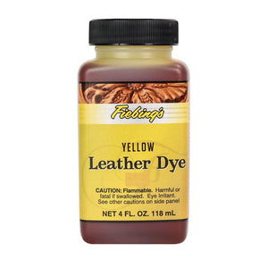 4 oz. Leather Dye (Yellow)