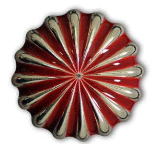 Parachute (Pinwheel) Concho with Screwpost (Choose Size and Color at Checkout) - American Leatherworks