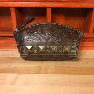 Brown Leather Accessory Case - American Leatherworks