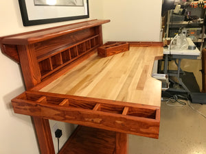 American Leatherworks Crafter's Bench - American Leatherworks