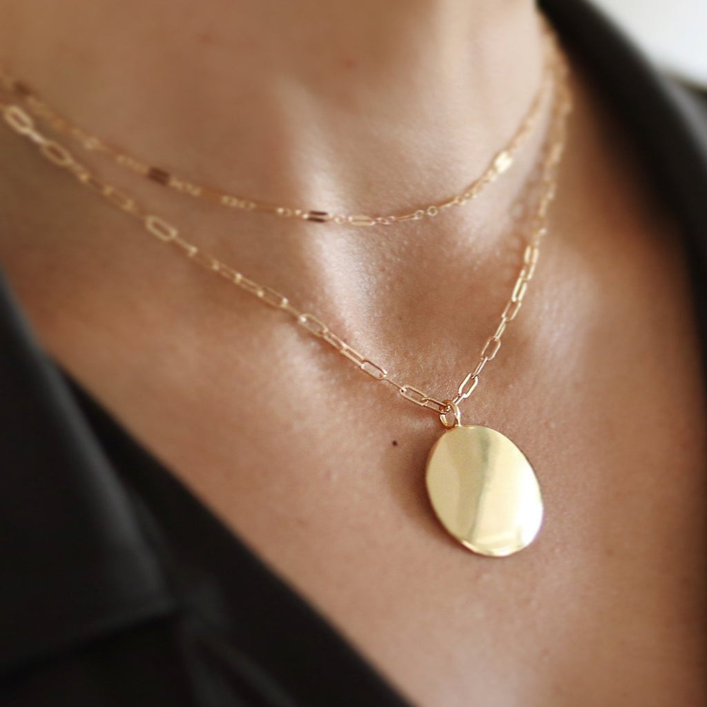 Chlöe Disc Necklace
