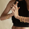 Twisted Bangle - Gold