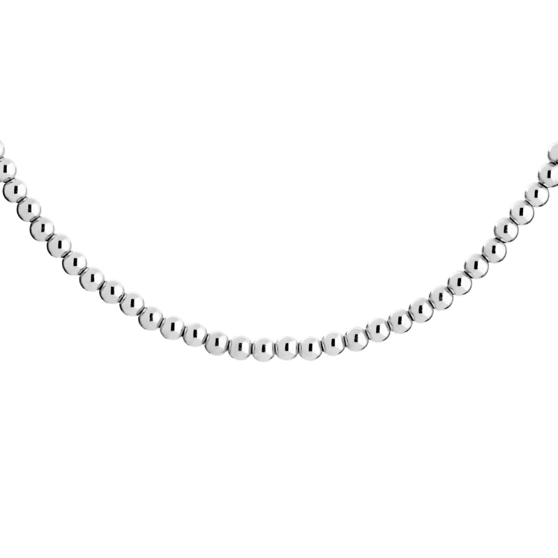 Ball Necklace - Silver