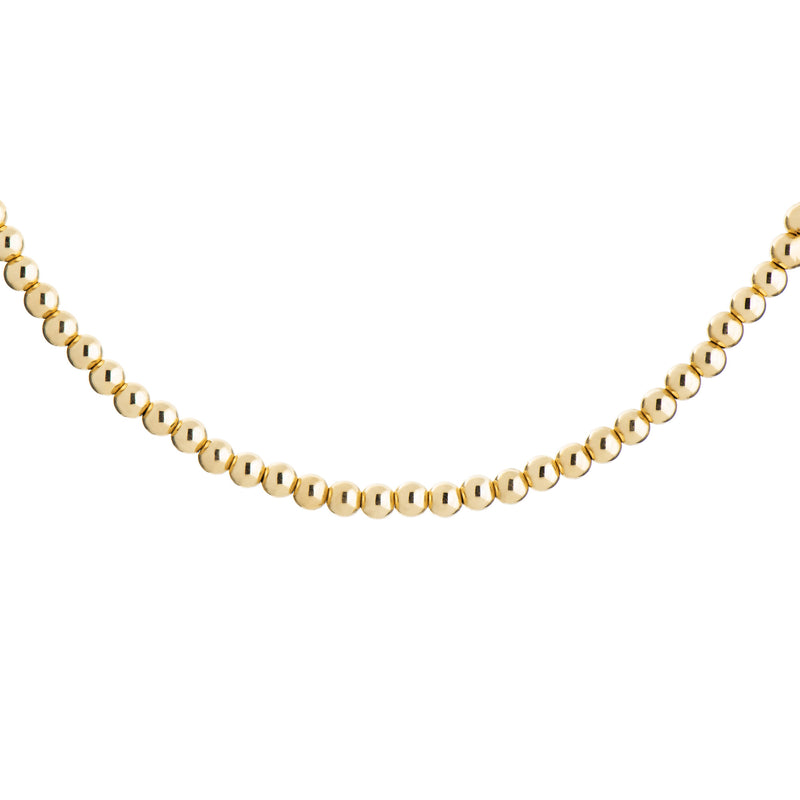 Ball Necklace - Gold