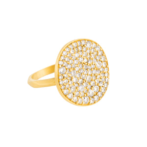 Valencia Disc Ring - Large