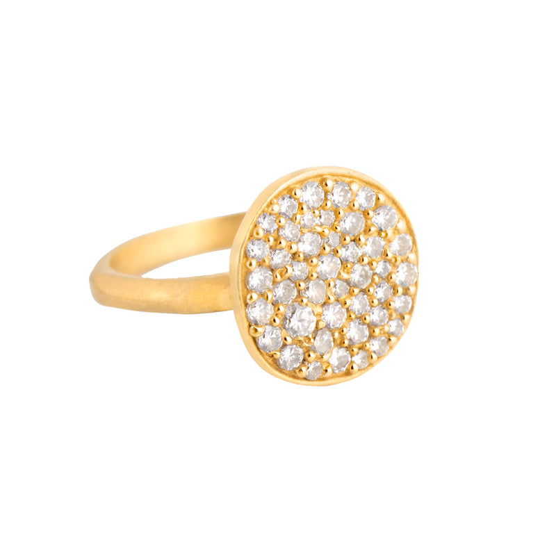 Valencia Disc Ring - Small