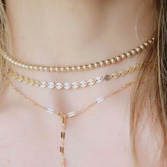Holly Coin Chain Choker
