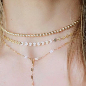 Holly Coin Chain - Gold