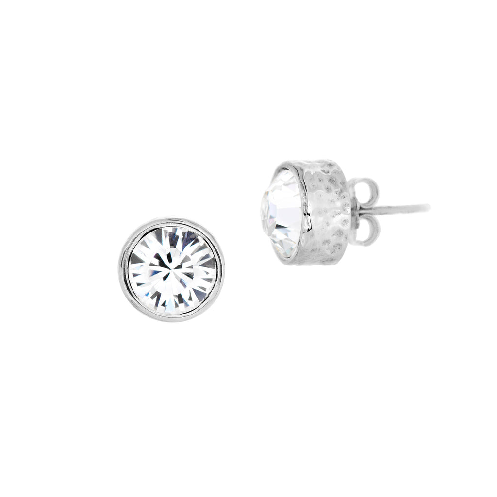 Toscana Studs Large - Clear