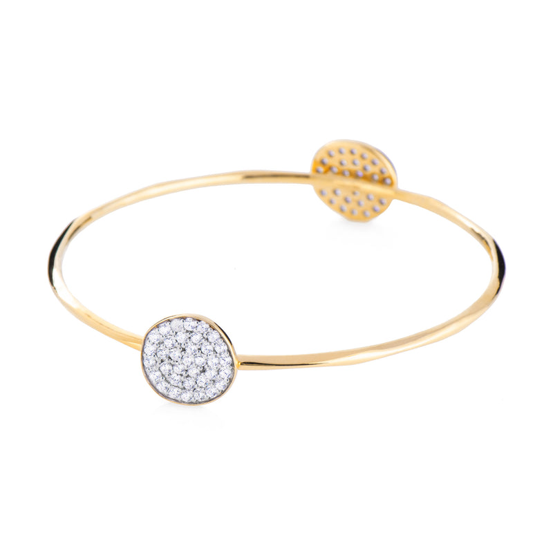 Valencia Disc Bangle