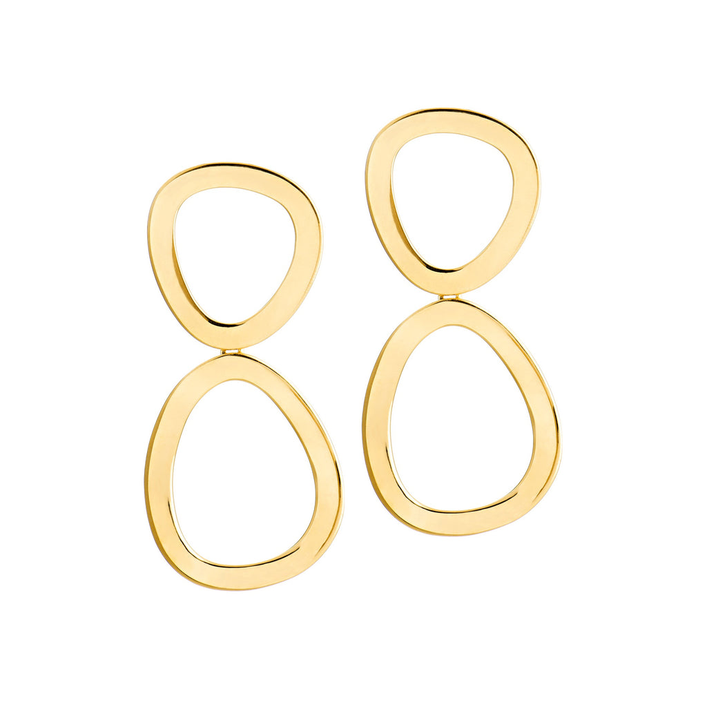 Elise Earrings - Gold