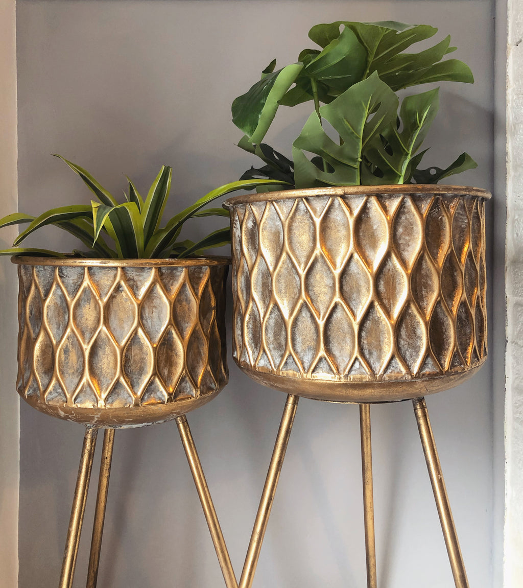 Geometric Planters (Set of 2)