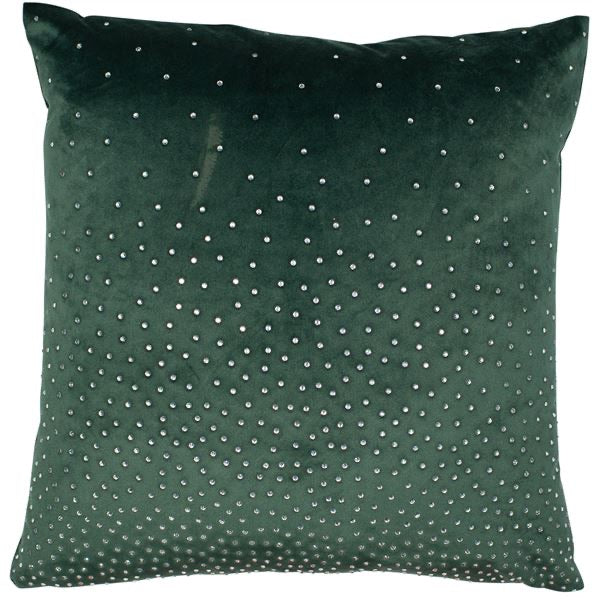 Zircon Green Cushion