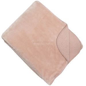 Super Soft Light Pink Throw