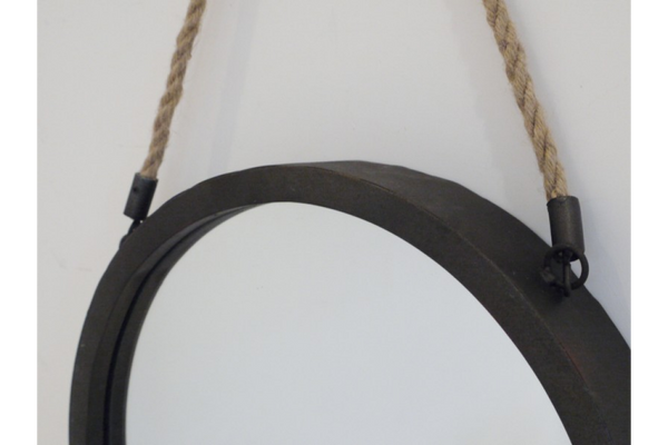 Oval Rope Mirror