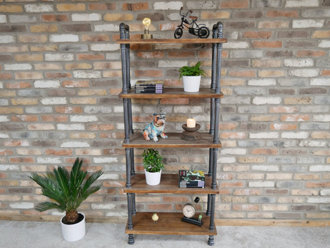 Pipe Shelving Unit - Medium