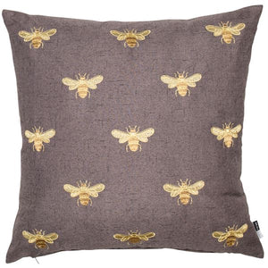 Golden Bee Cushion