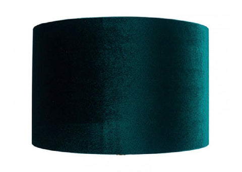 Forest Green Velvet Lamp Shade