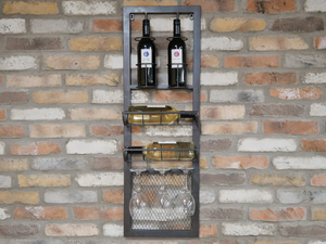 Wall Mounted Wine Bar