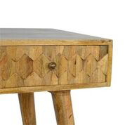 The Hexagon Carved Desk