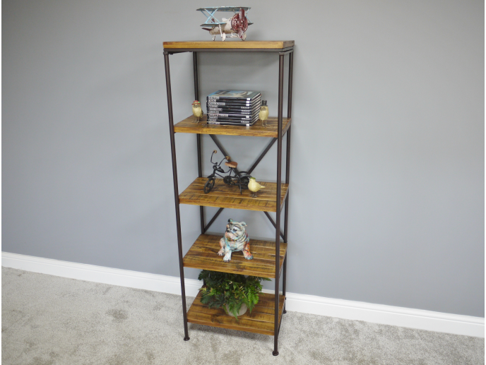 Cross Back Shelving Unit