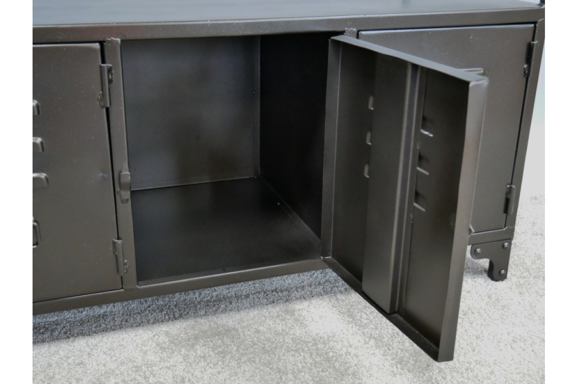 Industrial Low Cabinet / TV Stand