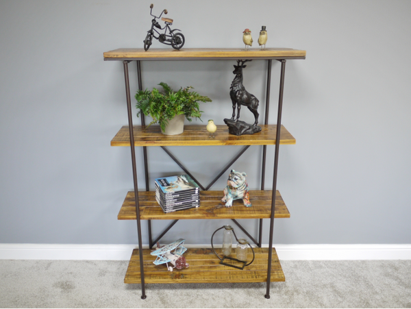 Modern Industrial Shelving Unit