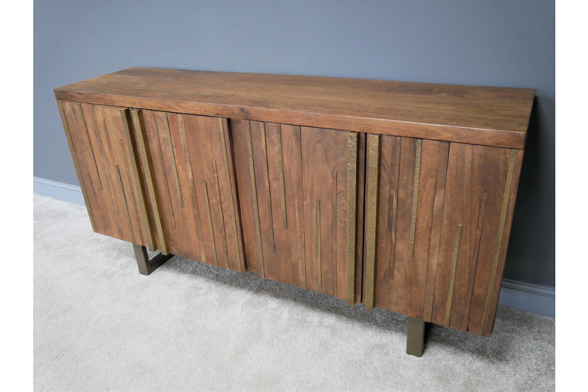 Brass Detailed Sideboard