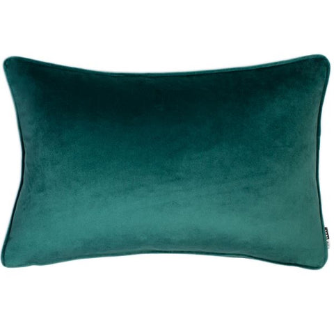 Luxe Velvet Jade Rectangle Cushion