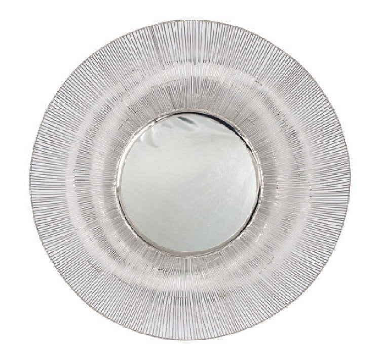 Silver Feature Mirror