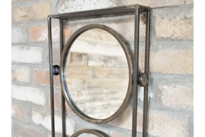 Industrial Trio Mirror