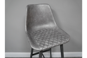 PU Leather Bar Stool - Set Of Two
