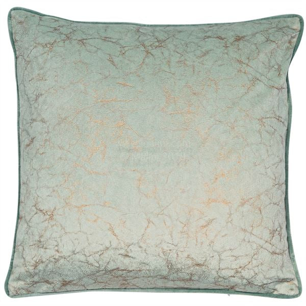 Crackle Mint Cushion