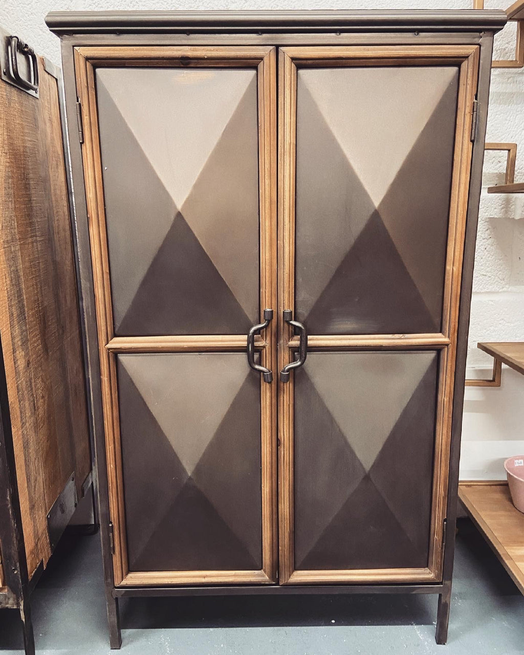 Panelled Industrial cabinet