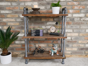 Industrial Metal Shelving Unit - Small