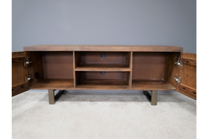 Brass Detailed TV Cabinet